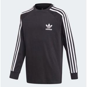 Maglietta a maniche lunghe  Adidas 3 Stripes Nera art.FM5656