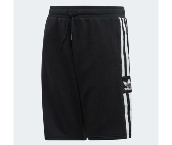Pantaloncino adidas 3 stripes shorts nero bambini art %282%29