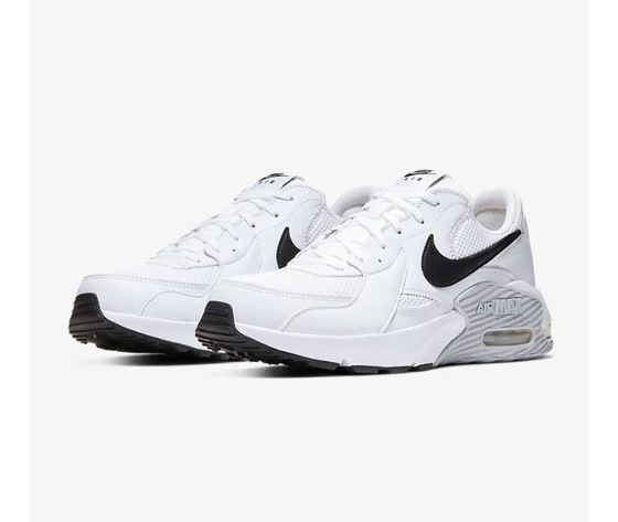 Scarpe Nike Air Max Excee Bianco con logo nero e suola in gomma ...