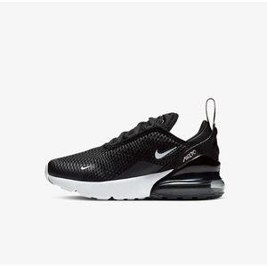 Scarpa Nike Air Max 270 tela nero bambini art.AO2372 001