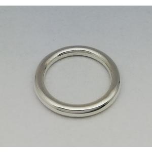 Anello in argento modello tondino