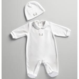 Tutina Ciniglia Neonato Liu Jo baby con Cuffietta  1-6 mesi art. 001