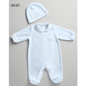 Tutina Ciniglia Neonato Liu Jo baby con Cuffietta  1-6 mesi art.007