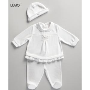 Tutina Ciniglia Completo 2 pezzi Neonato Liu Jo baby con Cuffietta  1-6 mesi art.009