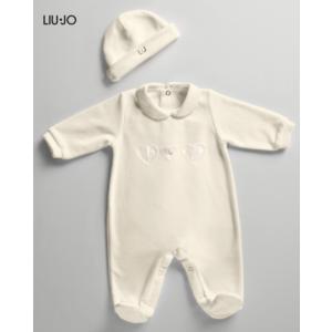 Tutina Ciniglia Neonato Liu Jo baby con Cuffietta  1-6 mesi art. 011