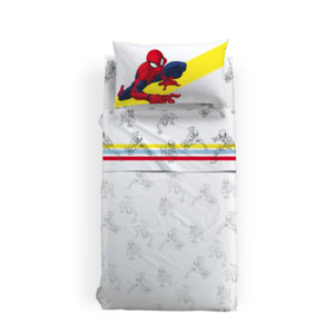 Completo Lenzuola Spiderman Colors Marvel Caleffi