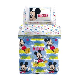 Trapunta invernale Mickey Avventura Disney Caleffi