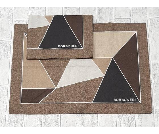Set 2 tovagliette  Americano  Borbonese art. Trilogy