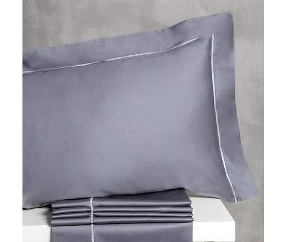 Completo lenzuolo Matrimoniale in Raso di Cotone Tessitura Randi art. Elite