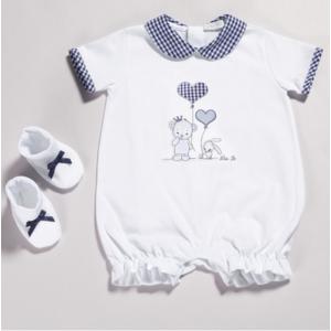 TUTINA BABY IN COTONE CON STAMPA SERIE NEW PALLONCINI art.004