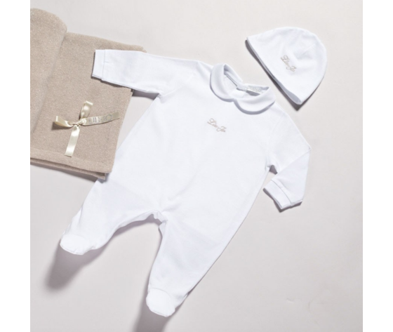 TUTINA BABY IN COTONE CON LOGO LIU JO SERIE BASIC art.008
