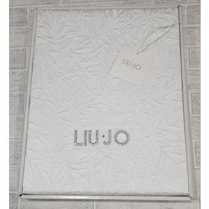 Copriletto estivo Matrimoniale Liu Jo casa art. Uliveto con cristalli SW