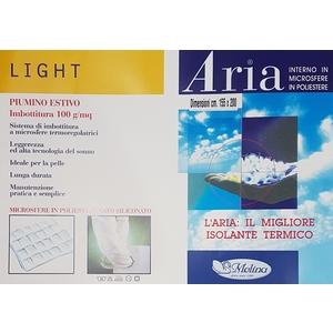 Piumino Estivo Aria light Molina per letto Singolo 155x200