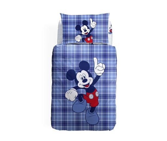 Completo copripiumino letto singolo Caleffi Mickey Mouse