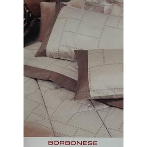Completo lenzuola matrimoniale Borbonese art. Elegant in raso di cotone