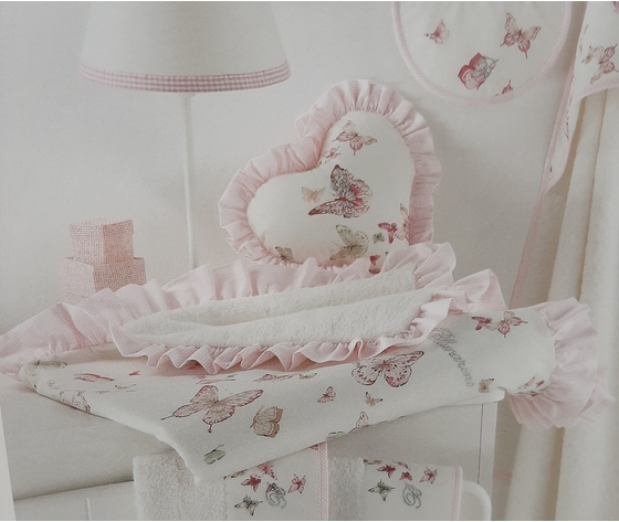 Asciugamano clinico Blumarine baby art. ARIELLA var. rosa