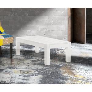 BEN - Tavolino in abete massiccio e spazzolato