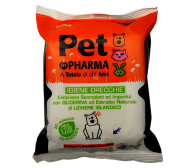Salviette orecchie Pet in Pharma