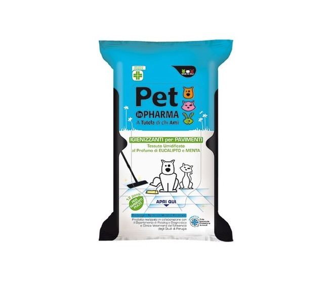Panni igienizzanti pavimento Pet in Pharma