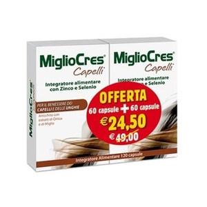 MIGLIOCRES CAPELLI 60+60 COMPRESSE
