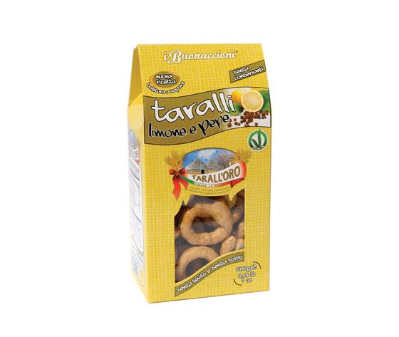 Taralli limone e pepe