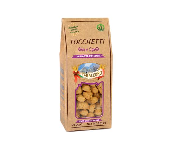 Tocchetti olive e cipolla
