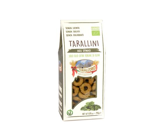 Tarallini agli spinaci