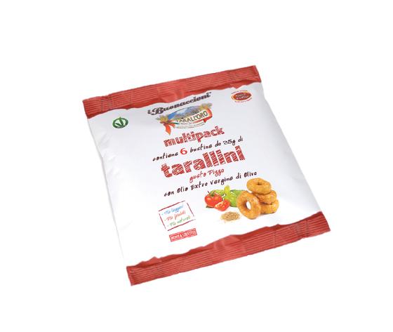 Tarallini gusto pizza in multipack 6x35g