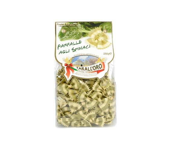Farfalle agli spinaci