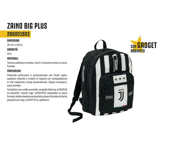 Zaino Scuola big plus Juventus