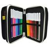 Juventus league portacolori 3 zip 8011410396449 astuccio triplo prodotto originale juventus 3b6011901 899 seven casa del libro salerno