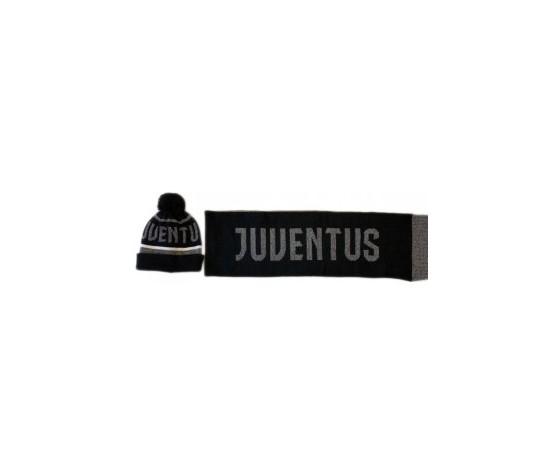 Set Juventus Cappello + Sciarpa
