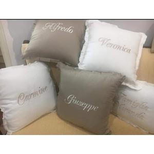 Cuscino Arredo Personalizzato con Nome