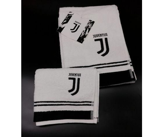 Asciugamano + Ospite con stemma Juventus