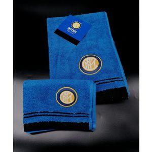 Asciugamano + Ospite con stemma Inter