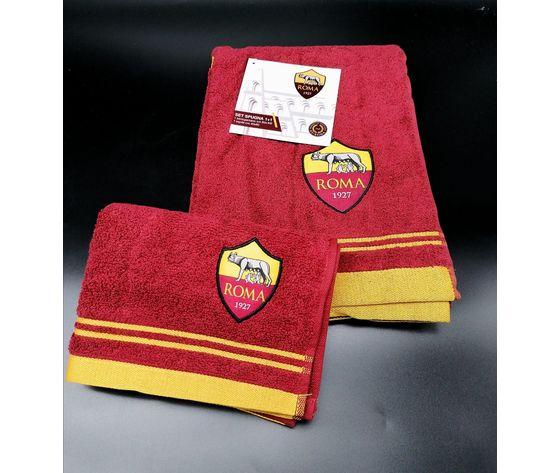 Asciugamano + Ospite con stemma Roma