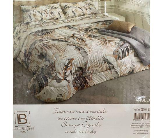 Trapunta Matrimoniale Laura Biagiotti Stampa Digitale Art. Angela