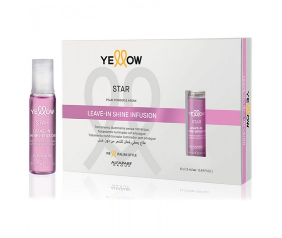 YE STAR LEAVE-IN SHINE INFUSION 6x13ml