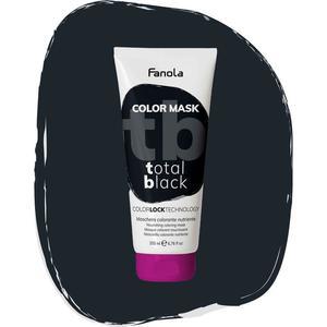 Maschera Colorata Total Black Fanola