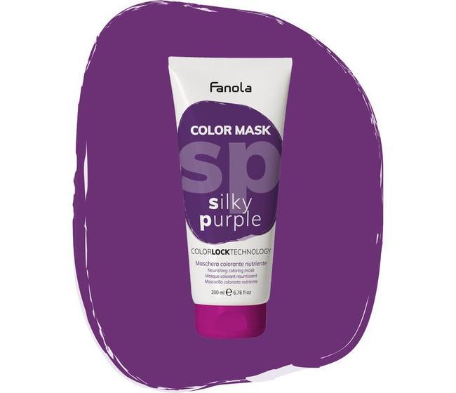 Maschera Colorata Silky Purple Fanola