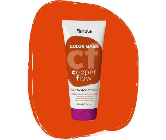 Maschera Colorata Copper Flow Fanola