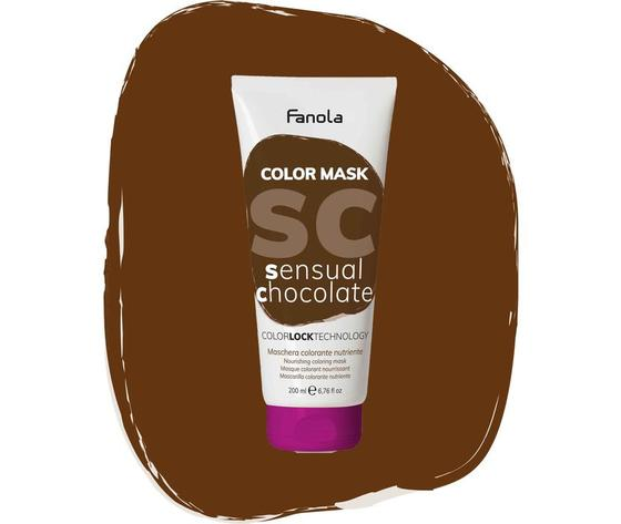Maschera Colorata Sensual Chocolate Fanola
