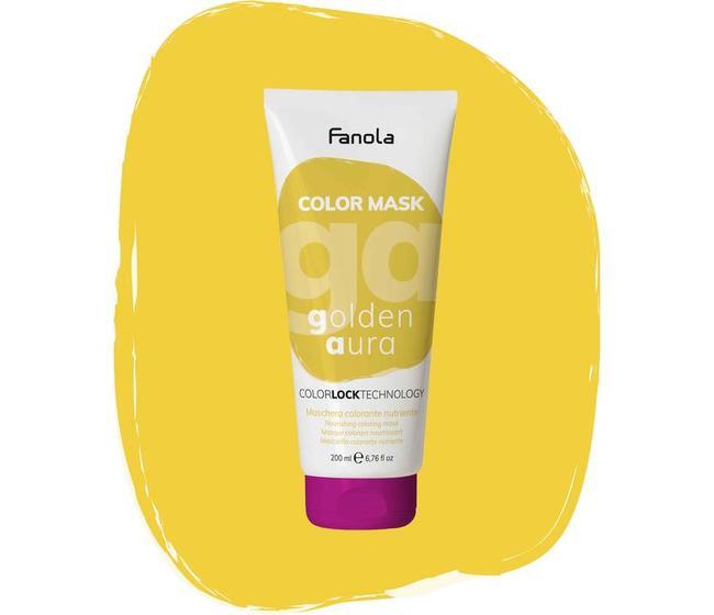 Maschera Colorata Golden Aura Fanola