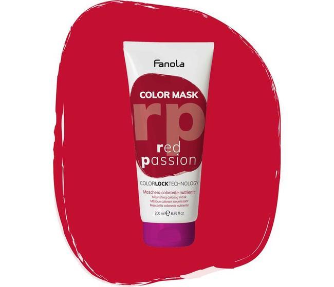 Maschera Colorata Red Passion Fanola