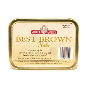 "TABACCO DA PIPA SAMUEL GAWITH ""BEST BROWN"" - 50GR"