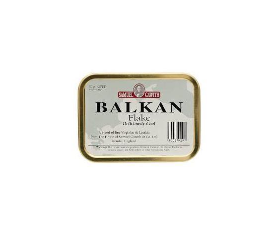 "TABACCO DA PIPA SAMUEL GAWITH ""BALKAN FLAKE"""