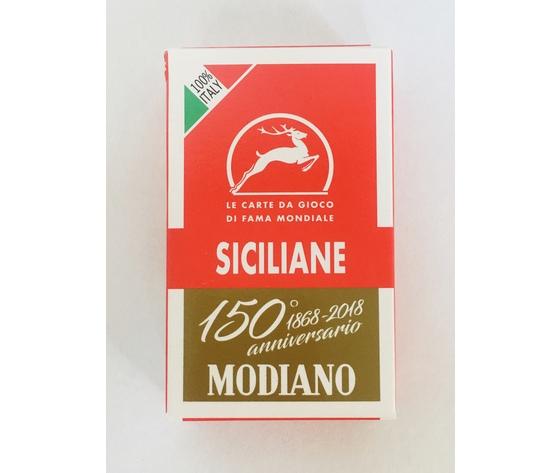 """CARTE DA GIOCO """"SICILIANE"""" - MODIANO"""