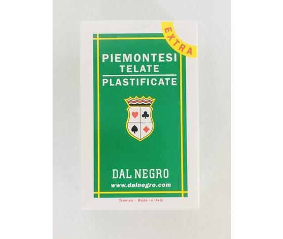 "CARTE DA GIOCO ""PIEMENOTESI"" TELATE - EXTRA DAL NEGRO"