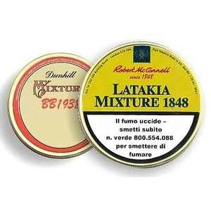 "TABACCO DA PIPA ROBERT MCCONNELL ""LATAKIA MIXTURE 1848"""