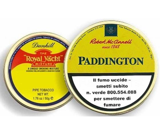 "TABACCO DA PIPA ROBERT McCONNELL ""PADDINGTON"""